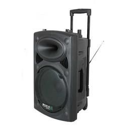 "EQUIPO DE SONIDO PORTATIL IBIZA SOUND PORT15VHF-BT 15"" USB/MP3/BLUETOOTH/REC/VOX 2xMICROS INALAMBRICOS"