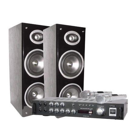 EQUIPO DE KARAOKE LTC AUDIO KARAOKE-STAR3-BT 2x80W USB/BLUETOOTH