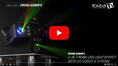 IBIZA LIGHT CROSS-GOBOFX