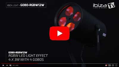 IBIZA LIGHT GOBO-RGBW12W