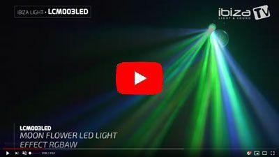 IBIZA LIGHT LCM003LED-BL