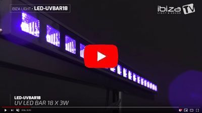 IBIZA LIGHT LED-UVBAR18