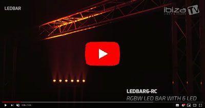 IBIZA LIGHT LEDBAR12-RC