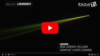 IBIZA LIGHT LZR250RGY