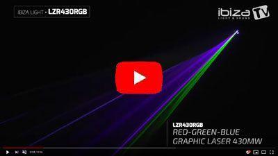 IBIZA LIGHT LZR430RGB