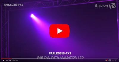 IBIZA LIGHT PARLED318-FX2