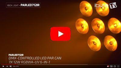 IBIZA LIGHT PARLED712IR