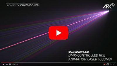 AFX SCAN1000FX5-RGB